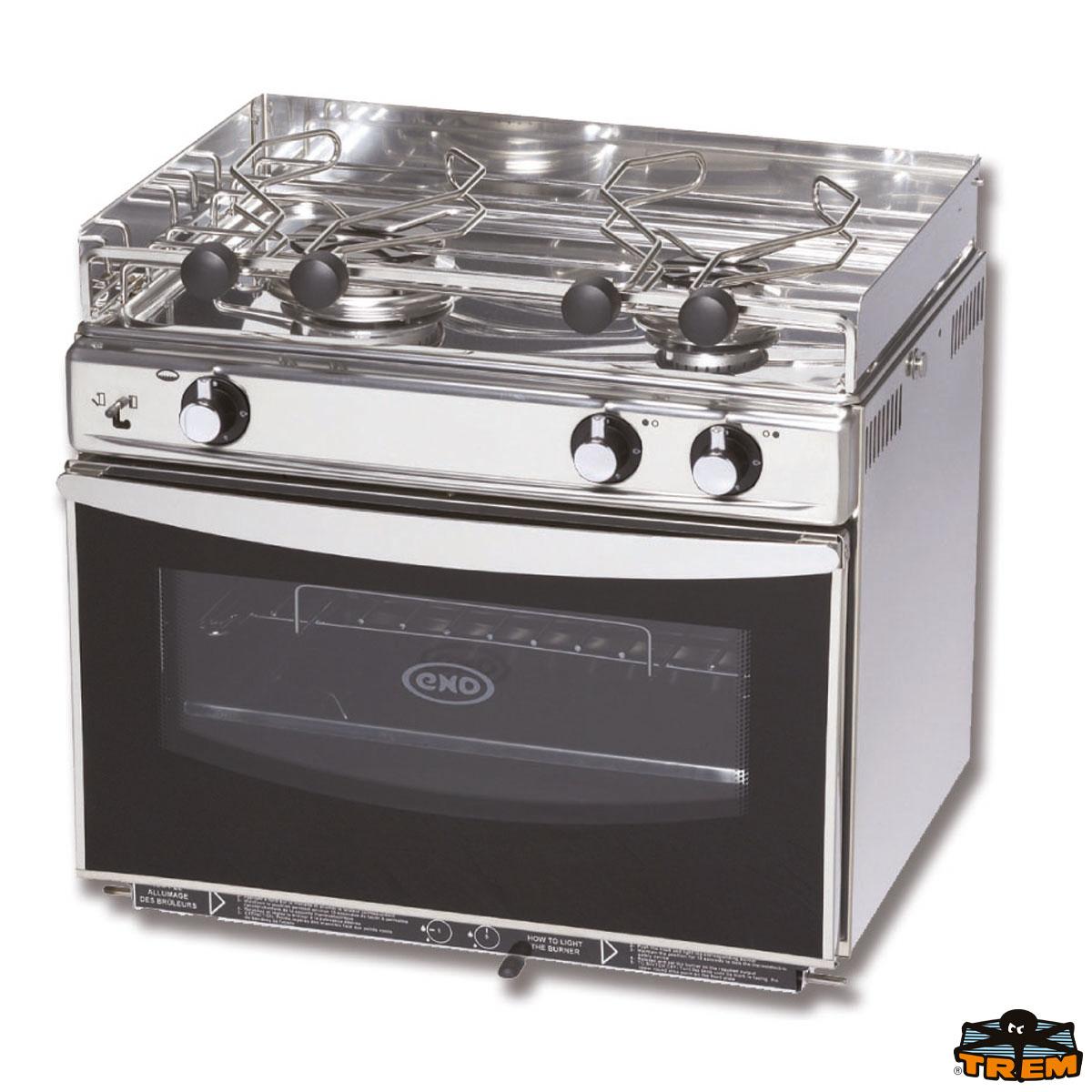 Cucina 2 Fuochi/forno Inox U0027grand Largeu0027